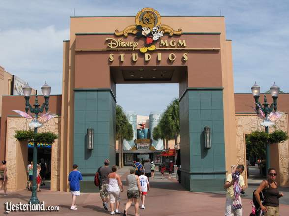 Disney-MGM Studios Animation Courtyard gate