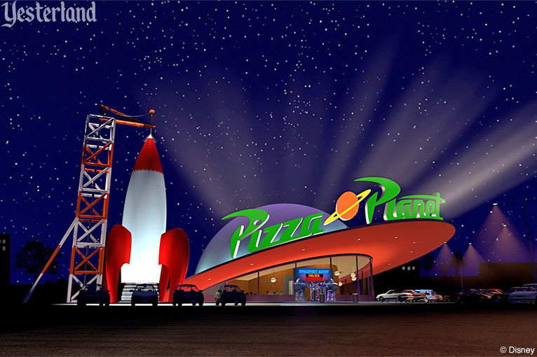 Pizza Planet from Toy Story (1995)