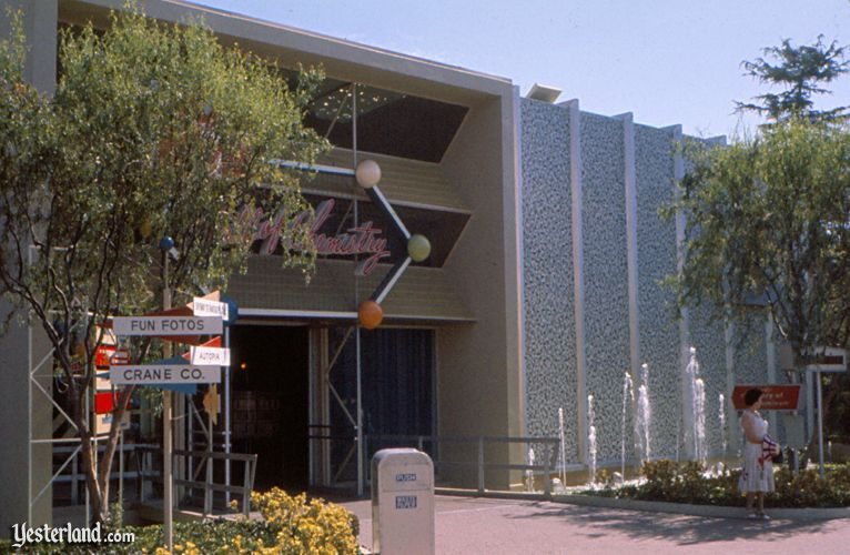 Monsanto Hall of Chemistry at Disneyland, 1960