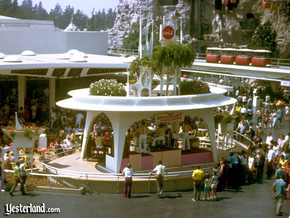 The Entertainment Committee on the Coca-Cola Tomorrowland Terrace Stage