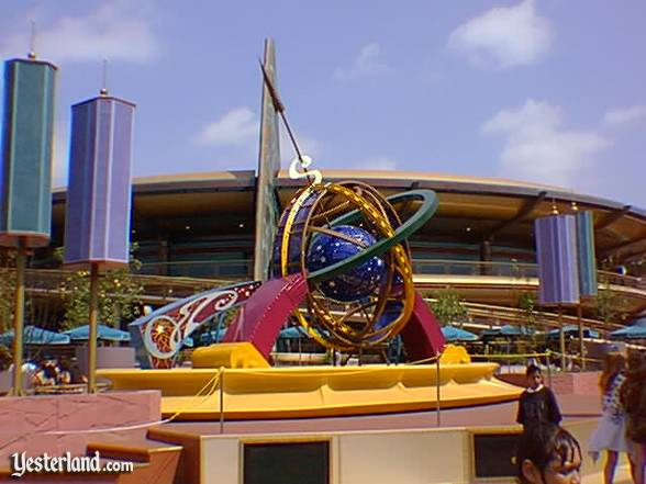 The 1998 version of the Tomorrowland Terrace Stage