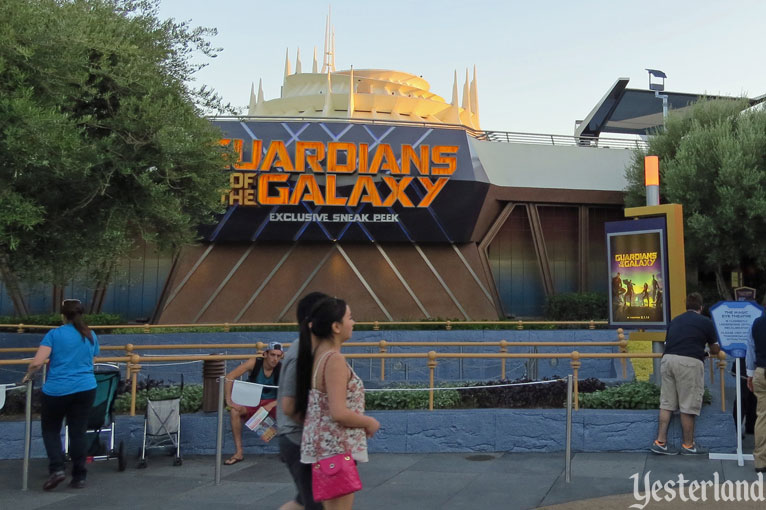 Guardians of the Galaxy preview at Disneyland