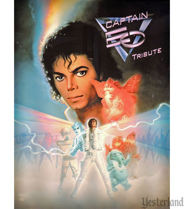 Captain EO Tribute poster