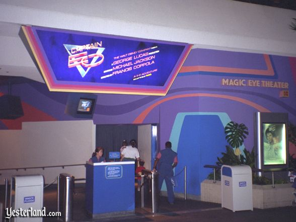 Photo of Captain EO exterior
