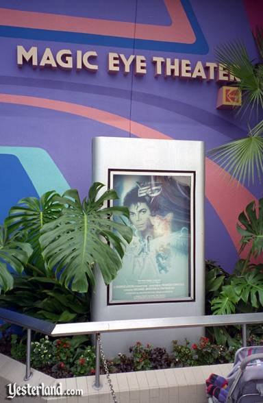 Photo of Captain EO sign