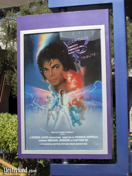 Captain EO poster in 2011