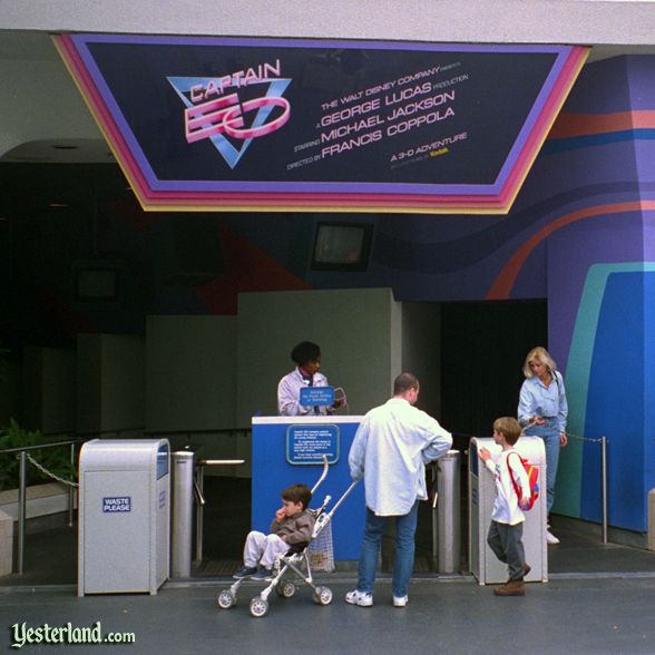 Captain EO turnstiles