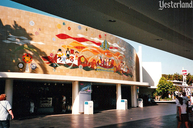 Mary Blair murals at Disneyland