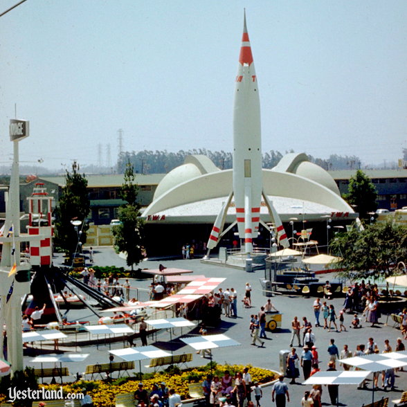 Photo of the twin domes of Rocket to the Moon