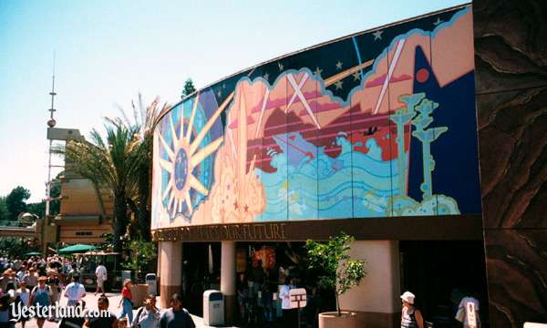 Photo of 1998 Tomorrowland Mural