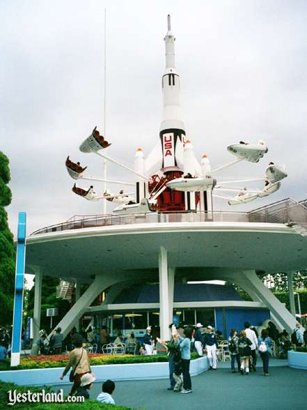 Photo of StarJets at Tokyo Disneyland in 2000