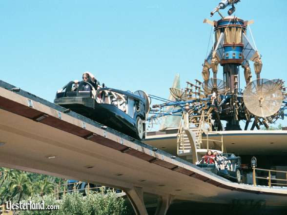 Photo of Rocket Rods Riders departing from loading area