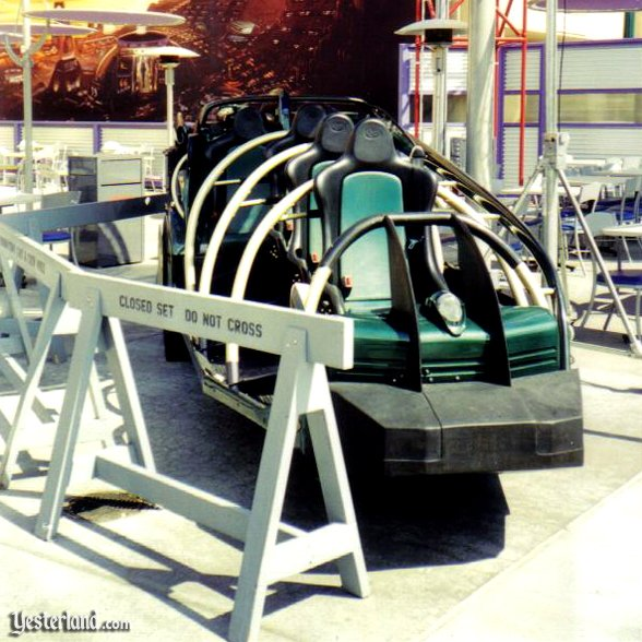 Photo of vehicle from Rocket Rods on display