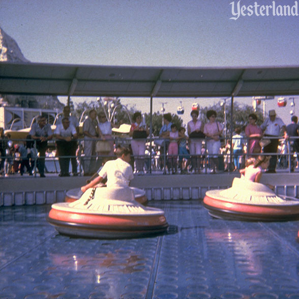 Flying Saucers at Disneyland
