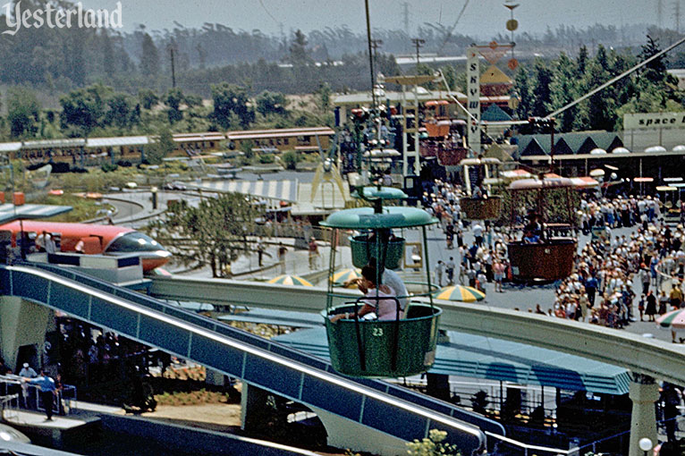 Skyway to Fantasyland at Disneyland