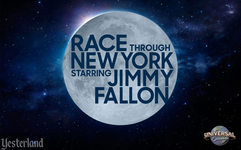 Race Through New York Starring Jimmy Fallon at Universal Studios Florida