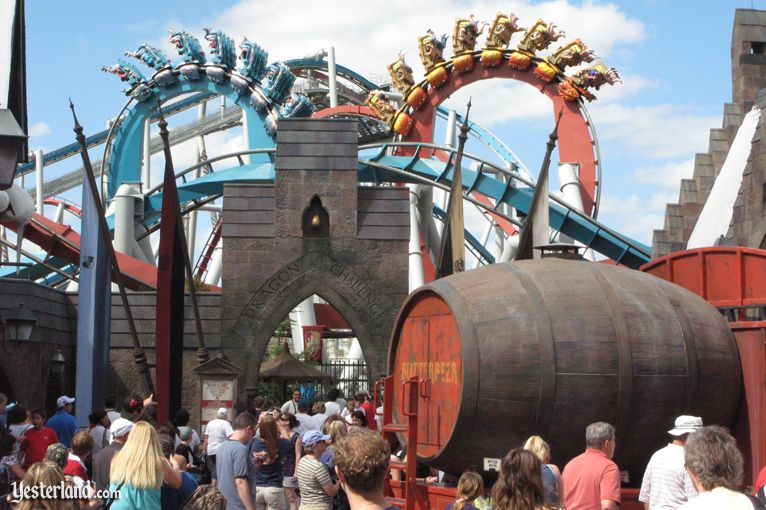 Yesterland The Wizarding World At Universal S Islands Of