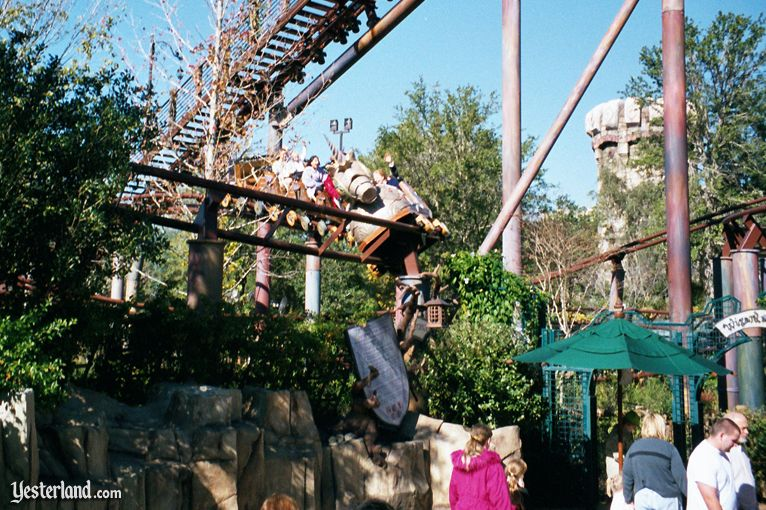 Flying Unicorn at Universal's Islands of Adventure in 2003