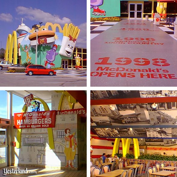 McDonald's near All-Star Resorts: 1999 by Allen Huffman.