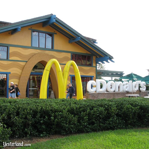 McDonald's at Downtown Disney: 2009 by Werner Weiss.