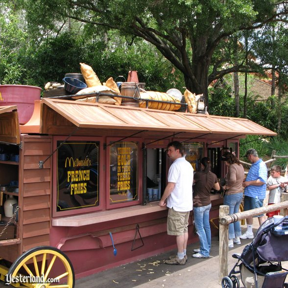 Frontierland Fries at Magic Kingdom: 2007 by Werner Weiss.