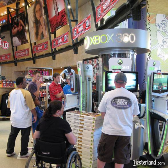 Xbox 360 at Virgin Megastore at Downtown Disney, Walt Disney World