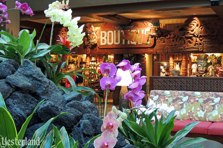 Yesterland Waterfall Garden At Disney S Polynesian Resort