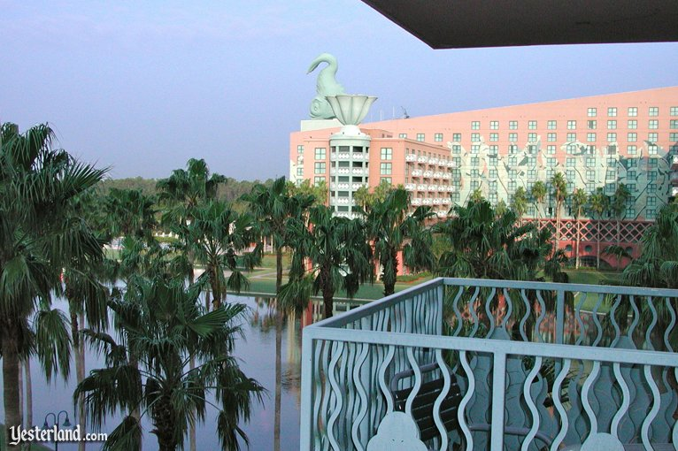 Balcony at the Walt Disney World Swan
